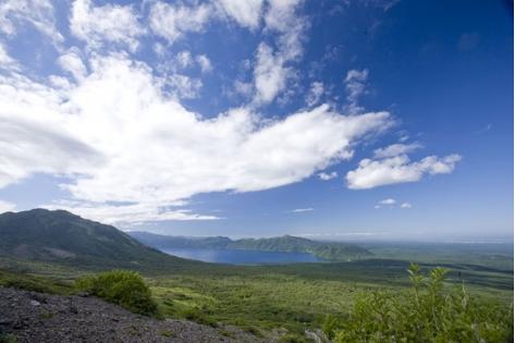 支笏洞爺国立公園支笏湖