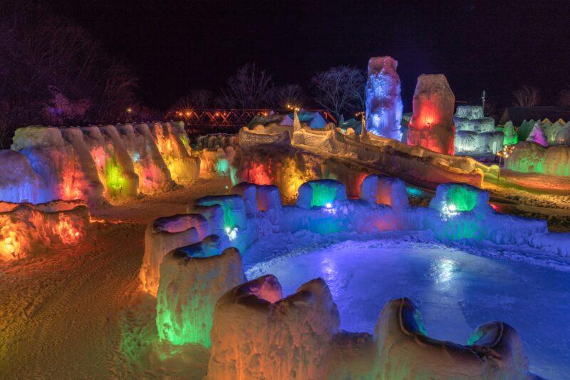 氷濤まつり2021「今年は氷の野外美術館」開催のお知らせ