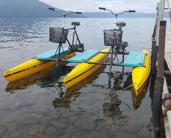 支笏湖中央ボート